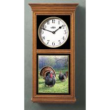 Turkey Oak Wood Regulator Wall Clock | Wild Wings | 5982662520
