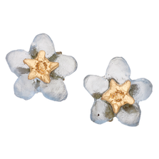 Forget Me Not Flower Stud Earrings | Michael Michaud Jewelry | 3271bz