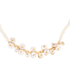 "Jasmine 16"" Adjustable Pearl Necklace 