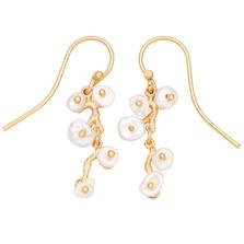 Jasmine Small Dangle Wire Earrings   Michael Michaud Jewelry   3264bzwp
