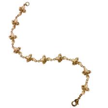 Succulent Link Bracelet | Michael Michaud Jewelry | 7274bz