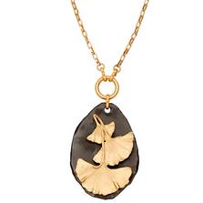"Pebble Gingko 28"" Adjustable Necklace   Michael Michaud Jewelry   N241"