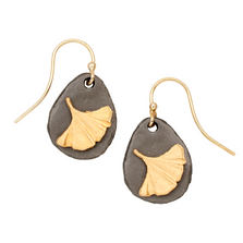 Pebble Gingko Single Wire Earrings | Michael Michaud | E138