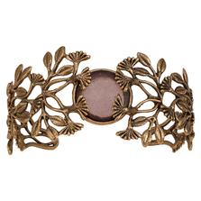 Vintage Dandelion Cuff Bracelet | Michael Michaud Jewelry | B303