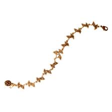 Vintage Dandelion Link Bracelet | Michael Michaud Jewelry | B302