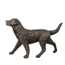 Golden Retriever Bronze Statue | Metropolitan Galleries | MGISRB25131-D