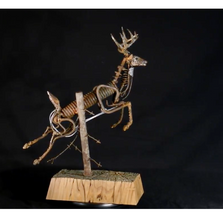 Deer Found Metal Sculpture | Goodbye | Frank Cole | FCSG