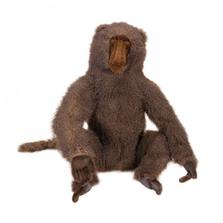 Adult Baboon Large Stuffed Animal | Plush Baboon Statue | Hansa Toys | HTU4315