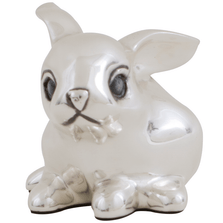 Rabbit Silver Plated Sculpture | A16 | D'Argenta