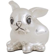 Rabbit Silver Plated Sculpture | A16 | D'Argenta