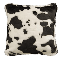 Cow Print Throw Pillow Black | Denali | DHC35013118