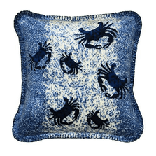 Sand Crab Cluster Throw Pillow   Denali   DHC35047418B