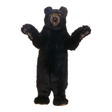 Black Bear Honey Large Stuffed Animal | Hansa Toys | HTU4812