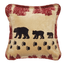 Wheat Bear Throw Pillow | Denali | DHC35027118