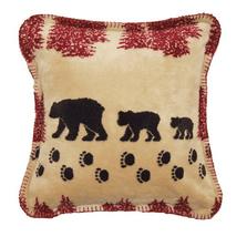 Wheat Bear Throw Pillow | Denali | DHC35027118
