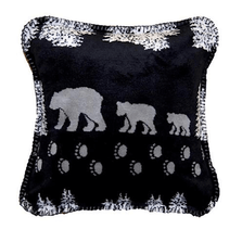 Black Bear Throw Pillow | Denali | DHC35001818