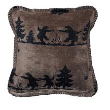 Bear Boogie Throw Pillow | Denali | DHC35091618