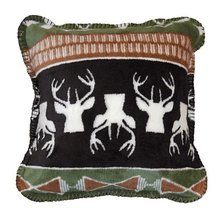 Nordic Deer Throw Pillow | Denali | DHC35036318