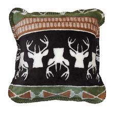 Nordic Deer Throw Pillow | Denali | DHC35036318