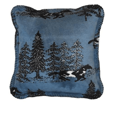 Horse Flight Throw Pillow | Denali | DHC35043518