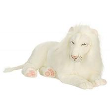 White Lion Large Stuffed Animal | Plush Lion Toy | Hansa Toys | HTU5243