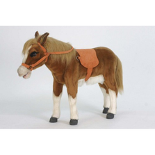 Pony Ride-On Stuffed Animal | Plush Pony Statue | Hansa Toys | HTU5444