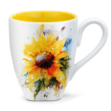 Sunflower Stoneware Mug | Big Sky Carvers | 3005050982