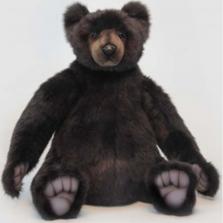 "Brown Teddy Bear ""Tommy"" Large Stuffed Animal | Hansa Toys | HTU6368"