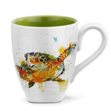 Sea Turtle Stoneware Mug | Big Sky Carvers Turtle Mug | Dean Crouser