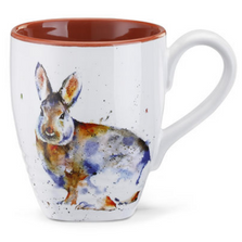 Rabbit Stoneware Mug | Big Sky Carvers Rabbit Mug | Dean Crouser