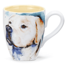 Yellow Lab Stoneware Mug | Big Sky Carvers Yellow Lab Mug | Dean Crouser