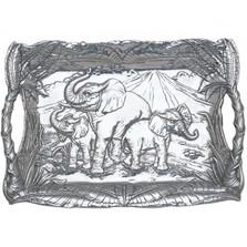 Elephant Clutch Tray | Arthur Court Designs | ACD102276 -2