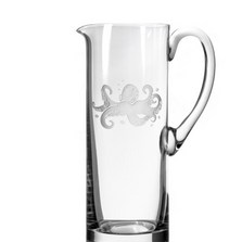Octopus Engraved Glass Pitcher | Rolf Glass | 238715