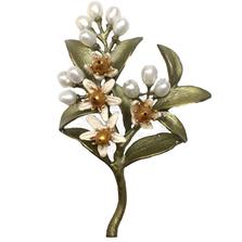 Orange Blossom Pin | Michael Michaud Jewelry | 5279BZYP