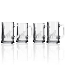 Heron Glass Beer Mug Set of 4 | Rolf Glass | 219080