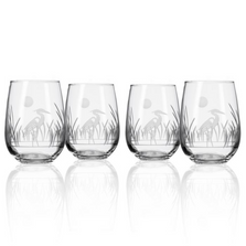 Heron Stemless Wine Glass Set of 4 | Rolf Glass | 219332