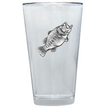 Bass Fish Pint Glass Set of 2 | Heritage Pewter | PNT4033