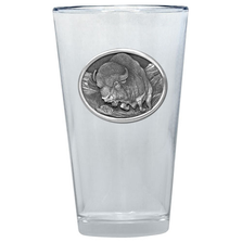 Buffalo Pint Glass Set of 2 | Heritage Pewter | PNT401
