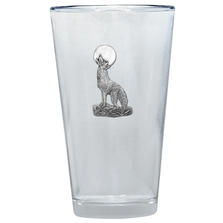 Coyote Pint Glass Set of 2 | Heritage Pewter | PNT3130
