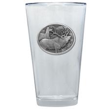 Elk Pint Glass Set of 2 | Heritage Pewter | PNT404