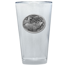 Elk Pint Glass Set of 2 | Heritage Pewter | PNT404