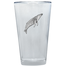 Humpback Whale Pint Glass Set of 2 | Heritage Pewter | PNT3380