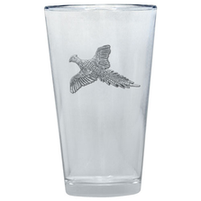 Pheasant Pint Glass Set of 2 | Heritage Pewter | PNT4036