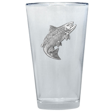 Salmon Pint Glass Set of 2 | Heritage Pewter | PNT3690