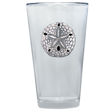 Sand Dollar Pint Glass Set of 2 | Heritage Pewter | PNT3300