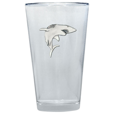 Shark Pint Glass Set of 2 | Heritage Pewter | PNT3350