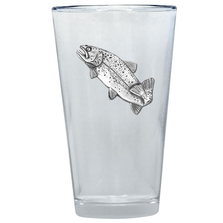 Trout Pint Glass Set of 2 | Heritage Pewter | PNT4034