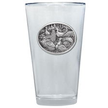Turkey Pint Glass Set of 2 | Heritage Pewter | PNT424