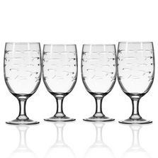 Fish Footed Iced Tea Glass Set of 4 | Rolf Glass | 600079