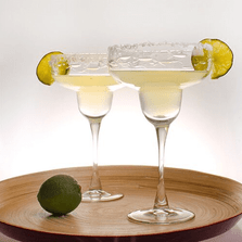 Fish Margarita Glass Set of 4 | Rolf Glass | 600048